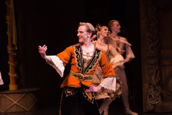 AB-Coppelia 2016. Amber Scott, David Hallberg in performance1. Photo Kate Longley